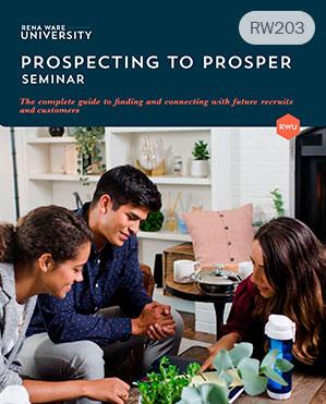 Prospecting to prosper